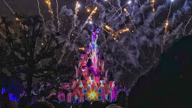 how to see disneyland paris in one day- closing fireworks display