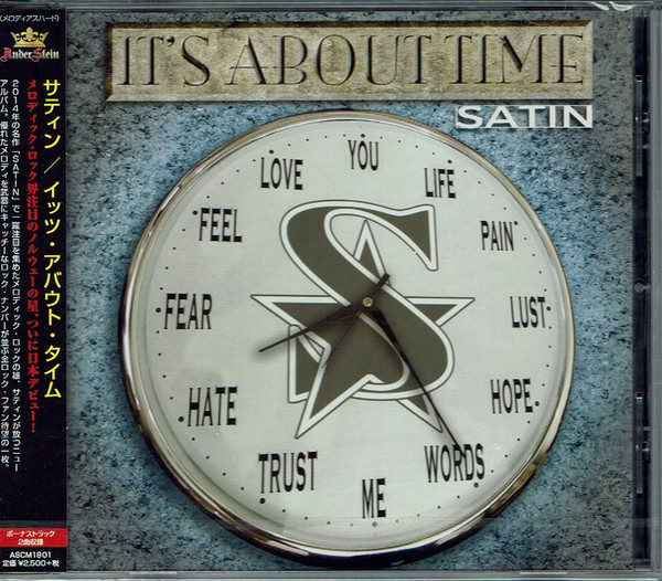 SATIN - It's About Time [Japan Edition +2] (2018) full