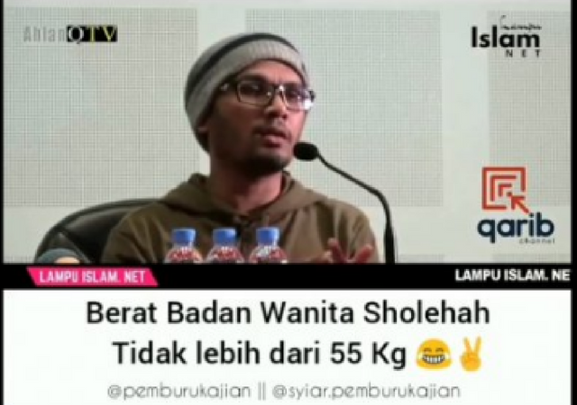 Klarifikasi Ustadz Hanan Attaki Terkait Berat Wanita Sholehah Tak Lebih Dari 55kg