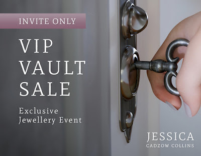 VIP Jewellery Vault Sample Sale December 2017
