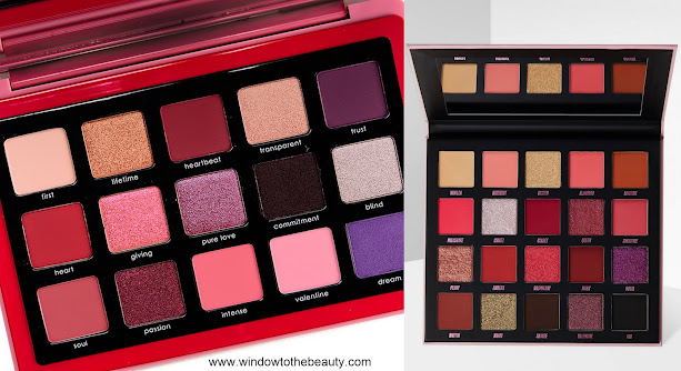 Natasha Denona Love vs Beauty Bay New Romantic