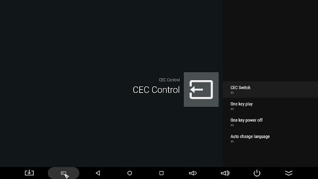 Funkcja CEC Control w Minix Neo U1