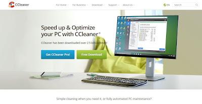طريقة تسريع حاسوبك الشخصي - برنامج ccleaner