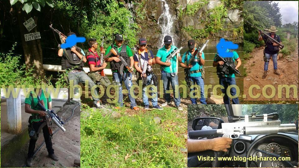 Fotografías Sicarios de GG, Guardia Guerrerense