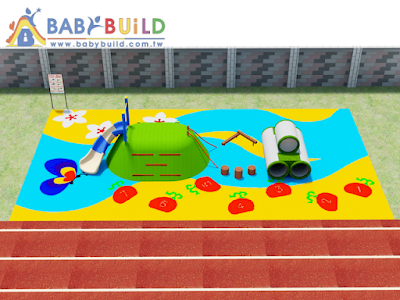 BabyBuild 兒童遊戲場示意圖