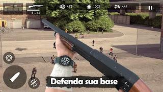 Jogo de Zumbi para Android Com gráficos realistas