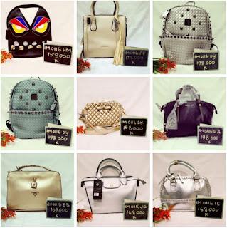 tas lokal dan import : clutch, wristlet, hobo bag, satchel bag, tote bag, tas ransel, messenger bag, pouch, kelly bag, baguette bag