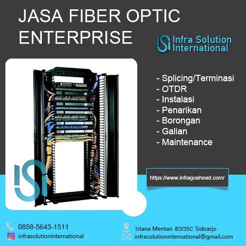 Jasa Splicing Fiber Optic Situbondo Enterprise