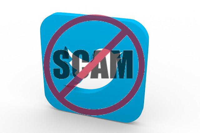 twitter hack scam