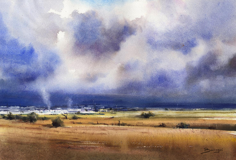 Campos de Níjar - 38x56cm