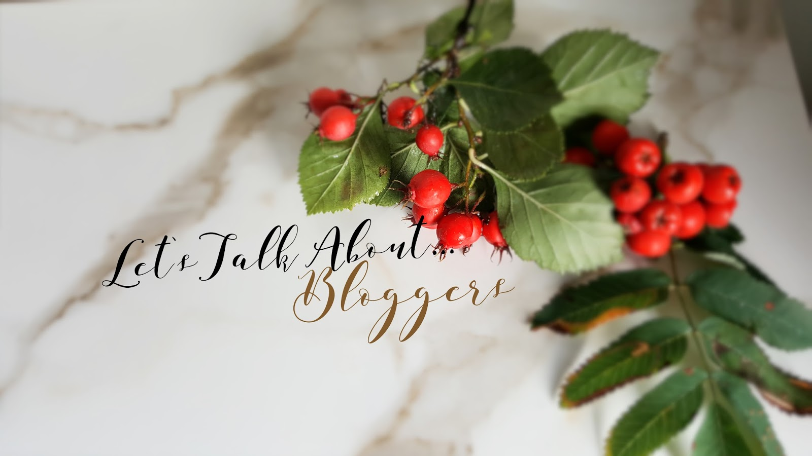 Let's Talk About...Bloggers