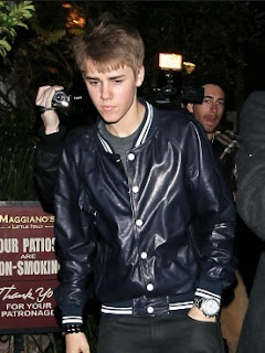 Gambar Model Jaket Kulit Sintetis Justin Bieber