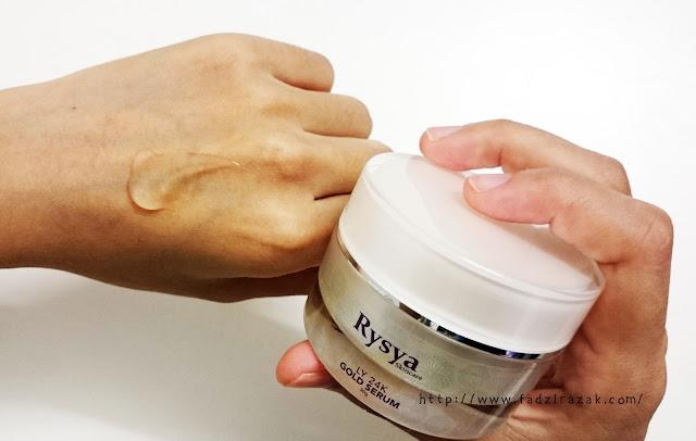 Rysya 24K Gold Serum, Rysya Skincare
