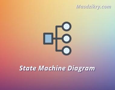 Pengertian state machine diagram