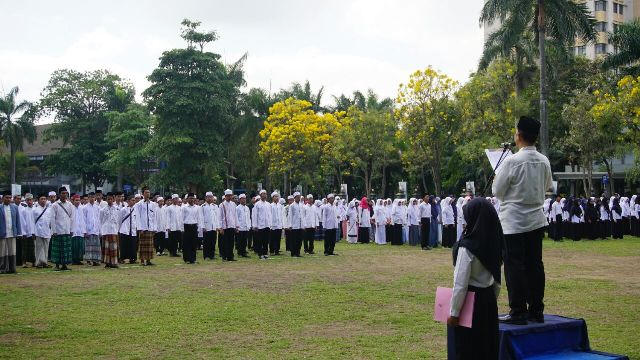 Universitas Brawijaya, Satu-satunya Perguruan Tinggi Negeri yang Gelar Upacara Hari Santri
