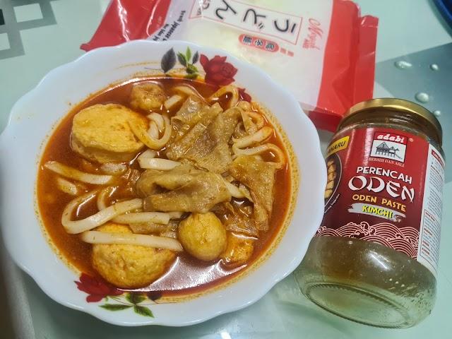 Resepi Oden Kimchi Ala Family Mart by Suzie
