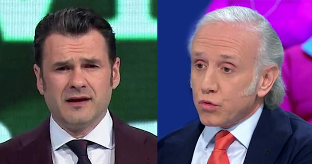 Iñaki López y Eduardo Inda