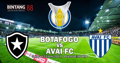 Prediksi Botafogo vs Avai FC Serie A Brasil 27 Juni 2017