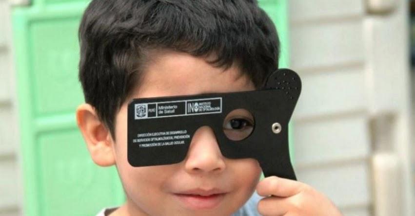 Problemas visuales en escolares deben descartarse antes del inicio de clases, recuerda el Instituto Nacional de Oftalmología - INO