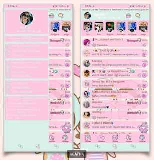 Classic Theme For YOWhatsApp & KM WhatsApp By Agatha