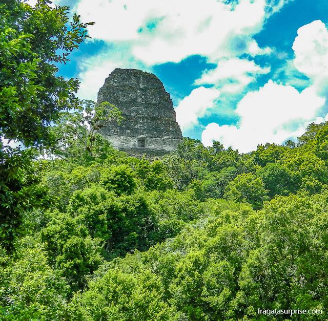 Templo IV, Tikal, Guatemala