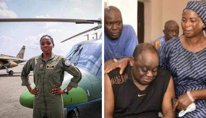 Father of Nigeria's first female combat helicopter pilot, Tolulope Arotile, speaks on their last moments