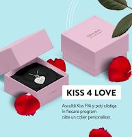 Castiga un colier din argint, gravat cu numele vostru sau cu data in care v-ati cunoscut - concurs - kiss - castiga.net - valentines - day