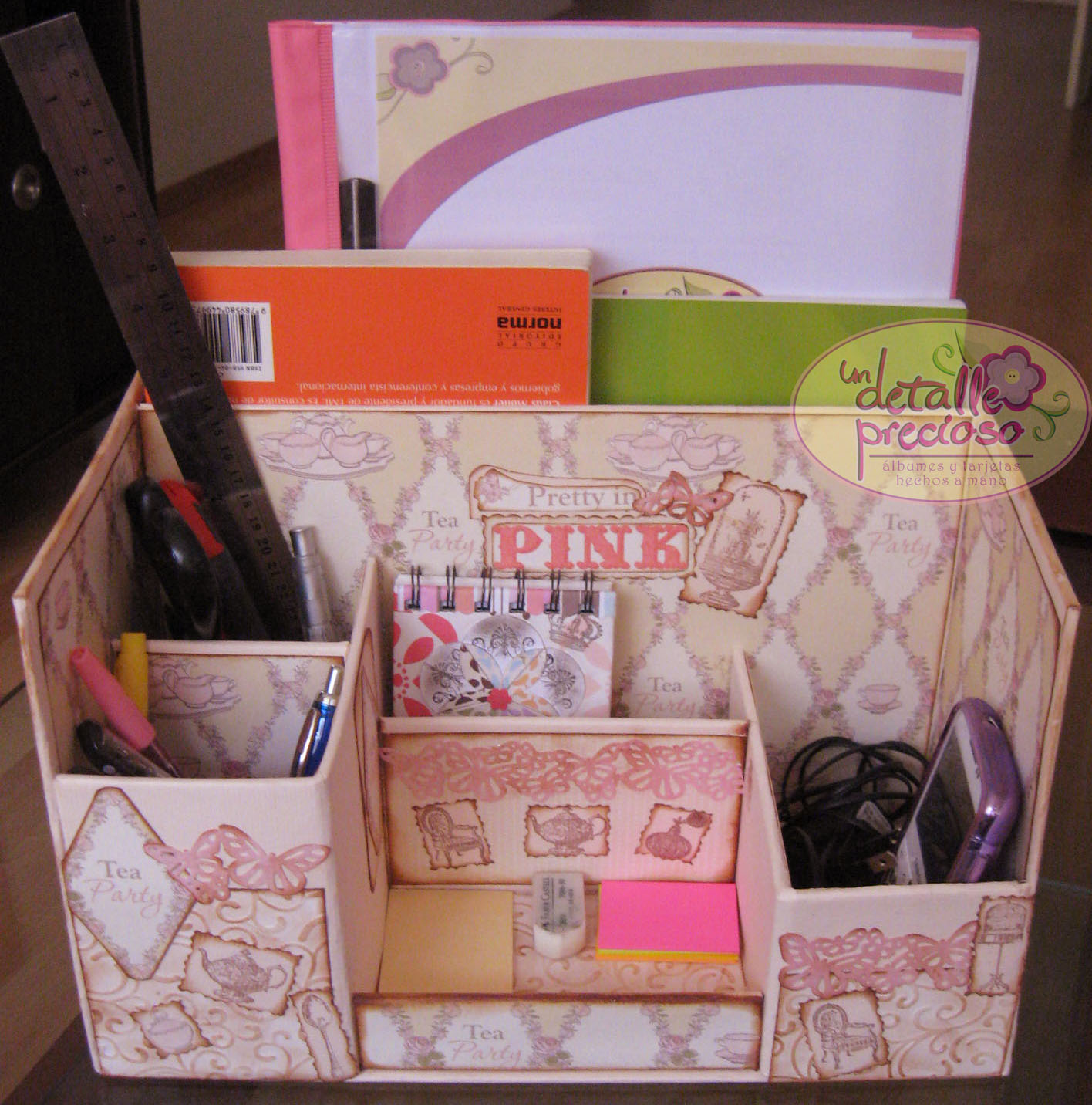 Un detalle precioso es hora de organizar tu escritorio - Organizadores escritorio ...
