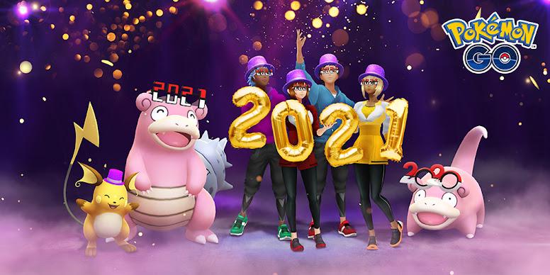 Pokémon GO Evento Ano Novo 2021