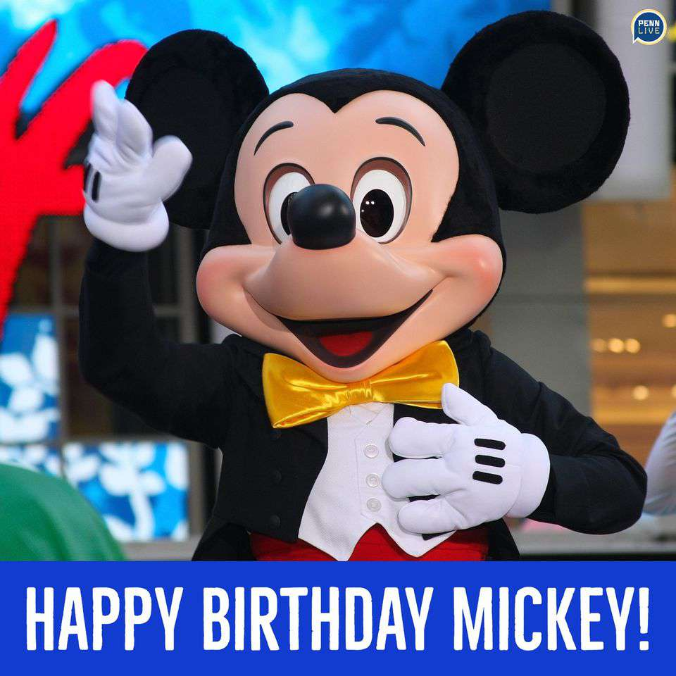 Mickey Mouse's Birthday Wishes Beautiful Image
