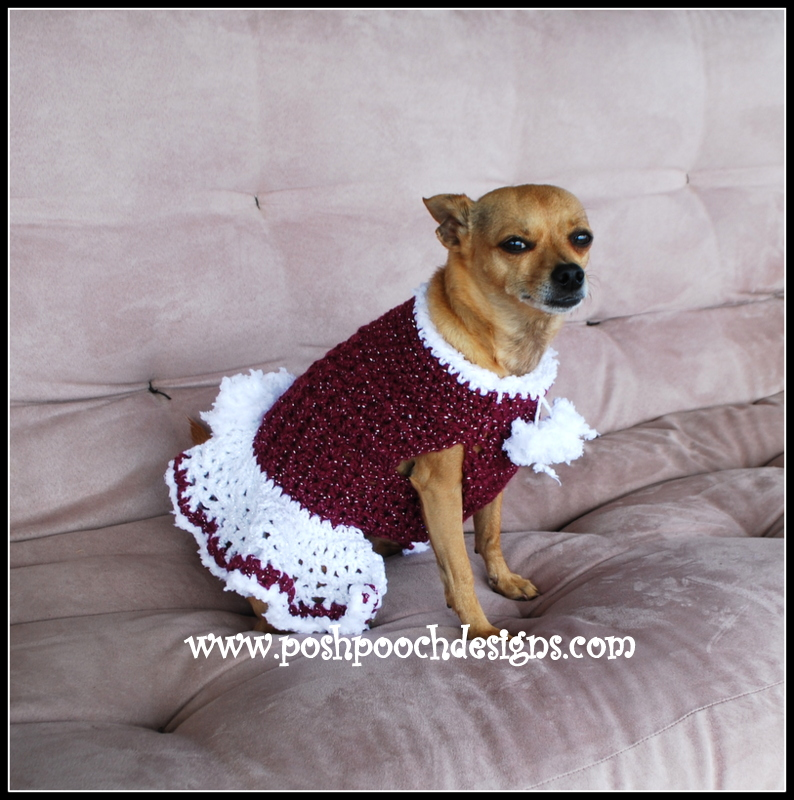 Posh Pooch Designs Dog Clothes New Pattern Releases Winter Elf