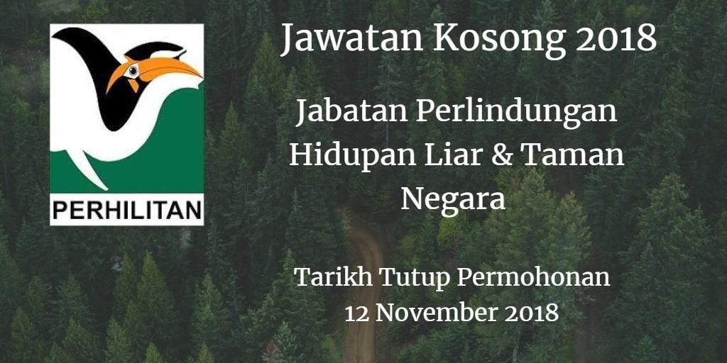 Jawatan Kosong PERHILITAN 12 November 2018
