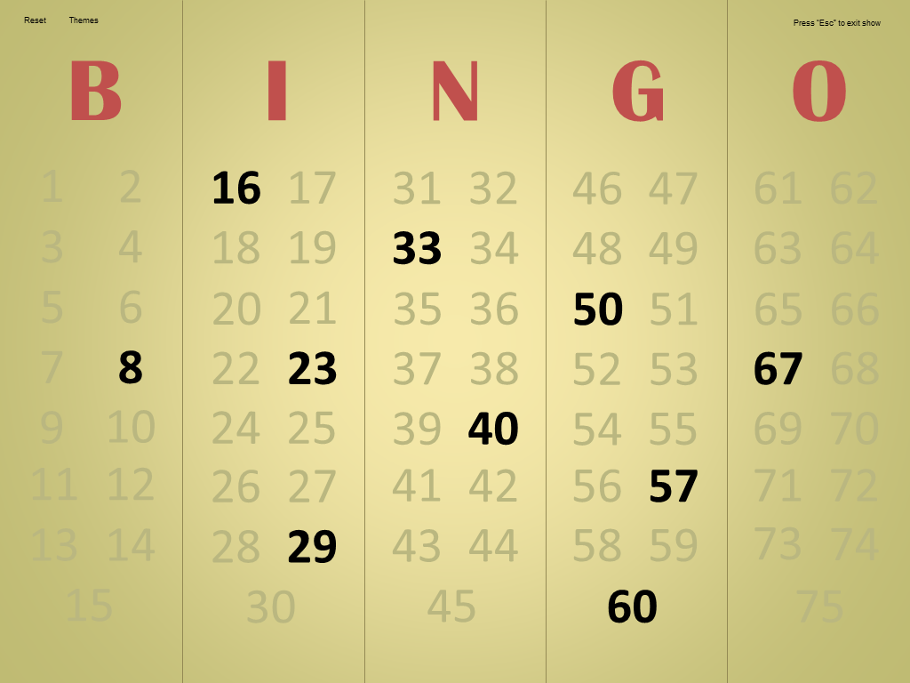 master - Bingo Master Board & Bingo Master Board PLUS Bingo1.6Screenshot