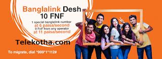 Banglalink Packages Desh 10fnf