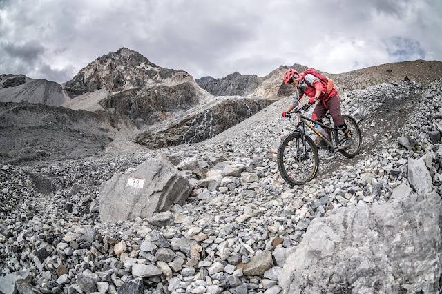 Zebru Pass Mountainbike Tour GPS Track