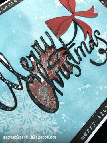 Sara Emily Barker https://sarascloset1.blogspot.com Christmas Ribbon Shaker Card 2
