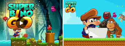 Game Super Mario Super Bino Go