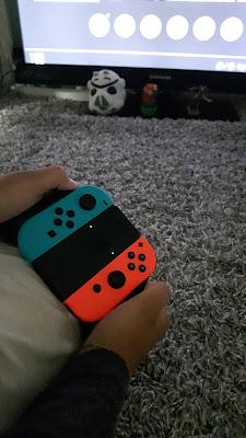 Joycon Grip als richtiger Kontroller für die Nintendo Switch
