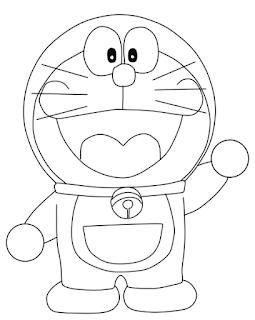 Cara Menggambar Doraemon Dengan Mudah 9komik