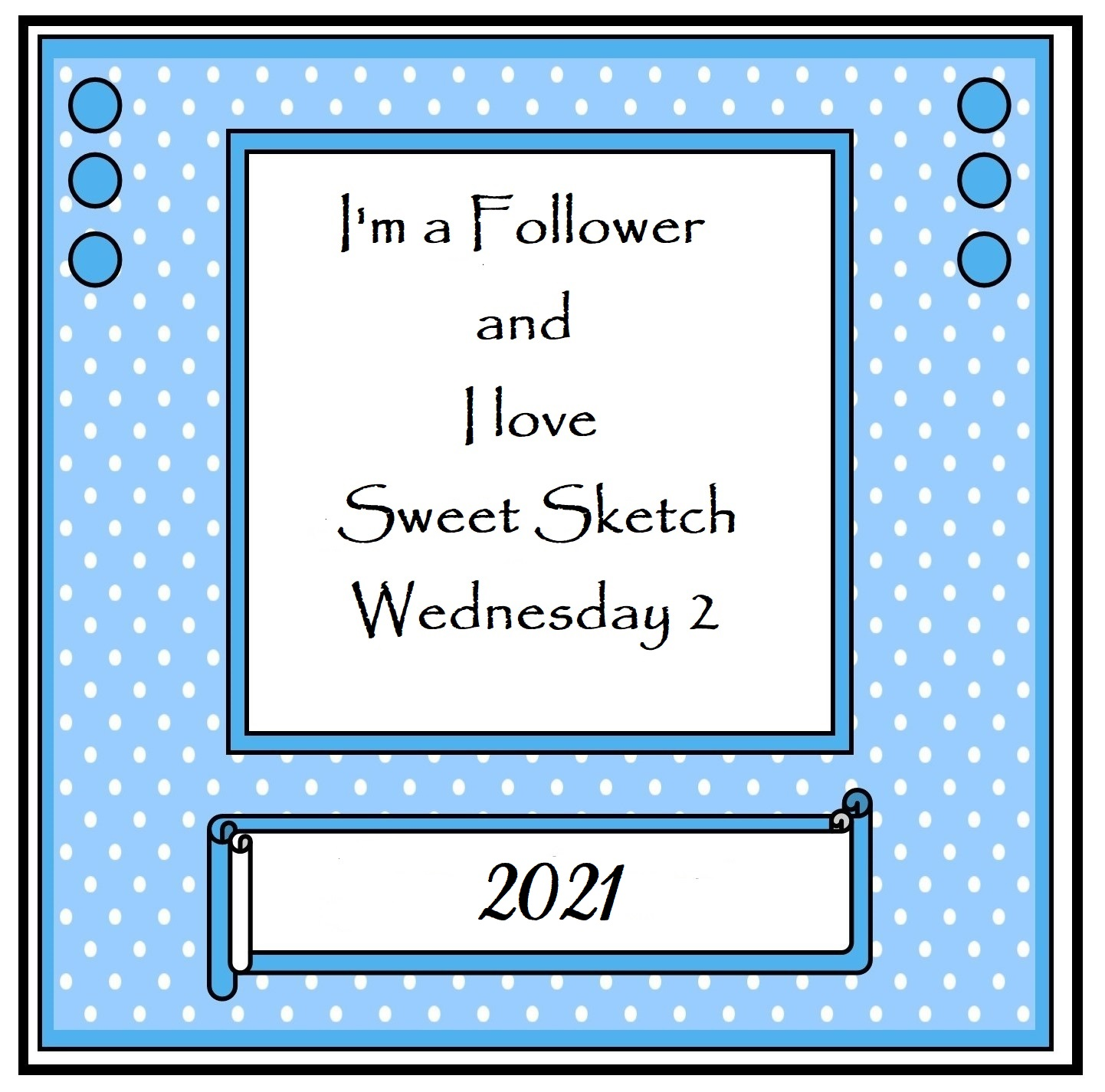 I Love Sweet Sketch Wednesday 2