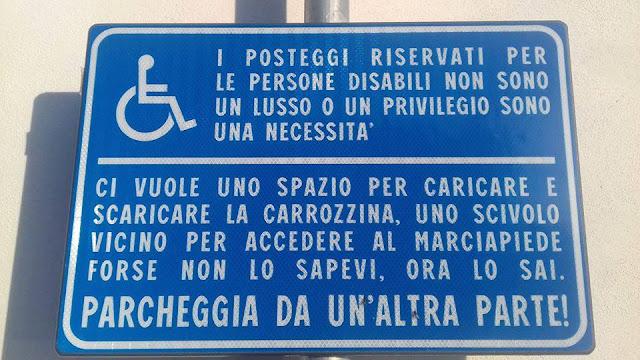 Parcheggi riservati