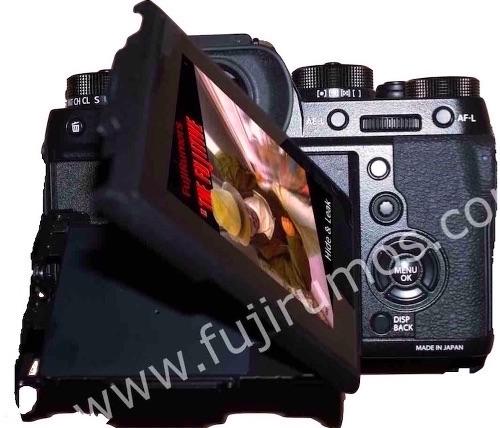 Задняя часть Fujifilm X-T2
