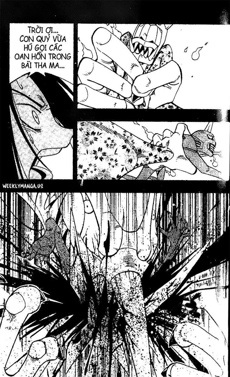 Shaman King [Vua pháp thuật] chap 171 trang 18