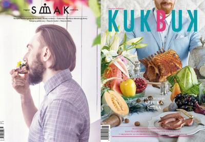 """Najnowsze okładki """"Kukbuka"""" i """"Smaku"""""""