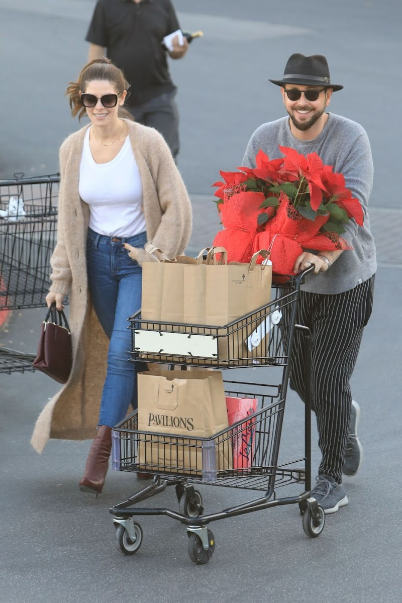 Ashley Greene and Paul Khoury Out Shopping in West Hollywood  11 Dec-2019
