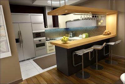 Ruang Dapur Bisa Dijadikan Tempat Berbincang Untuk Keluarga