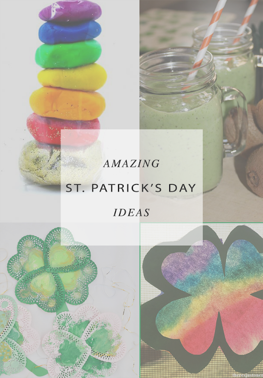 Architecture of a Mom: St Patrick's Day Ideas and A Little Bird Told Me Link Party