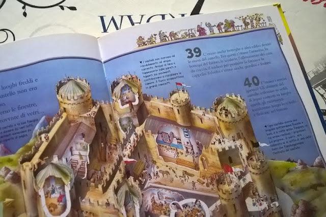 libri per bambini castelli e cavalieri