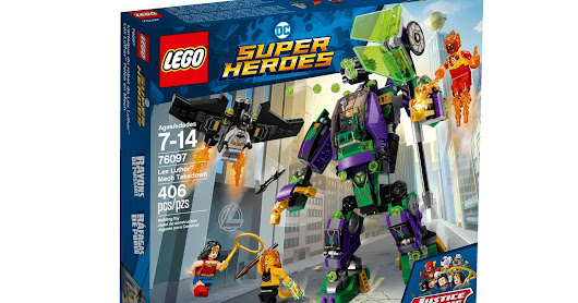 LEGO SET DATABASE LEGO 76097 Lex Luthor Mech Takedown