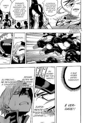 Mangá Boku No Hero Academia Capítulo 112